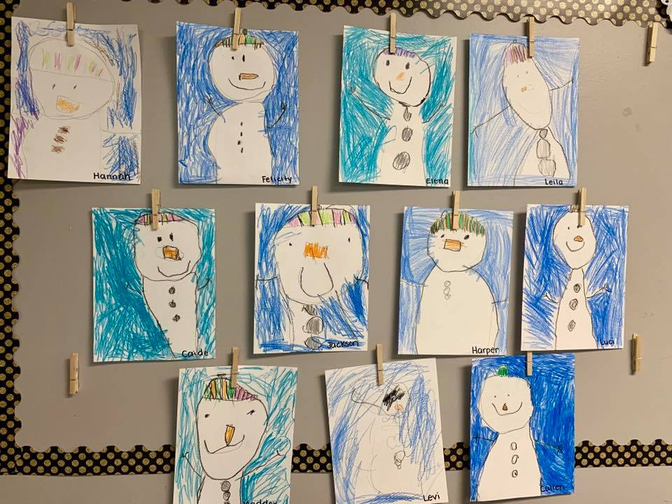 Snow Theme Week in Preschool
