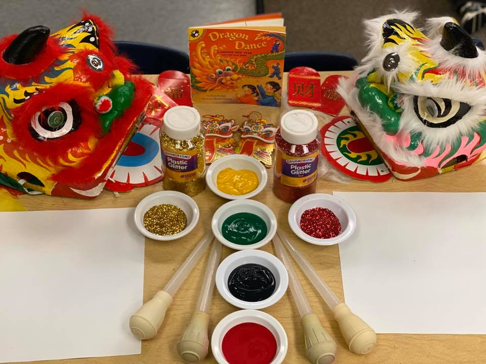 Chinese New Year Dragons Craft for Kids