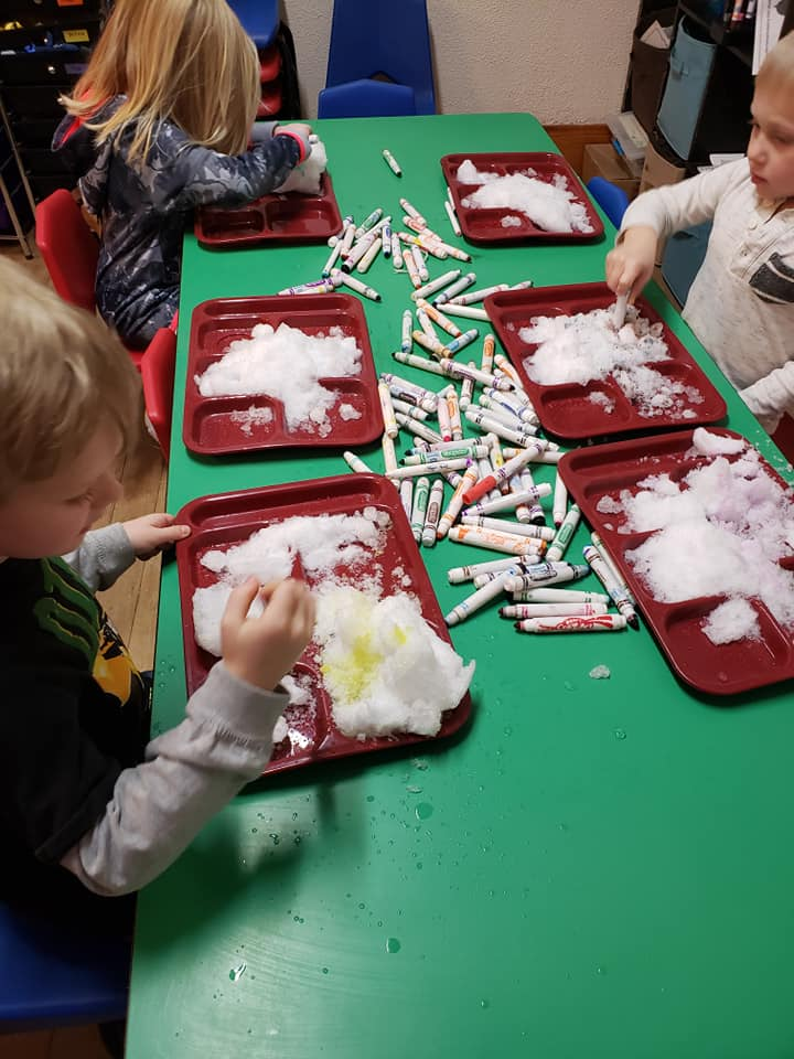 Fun With Snow During a Snow-Themed Week With Preschoolers!