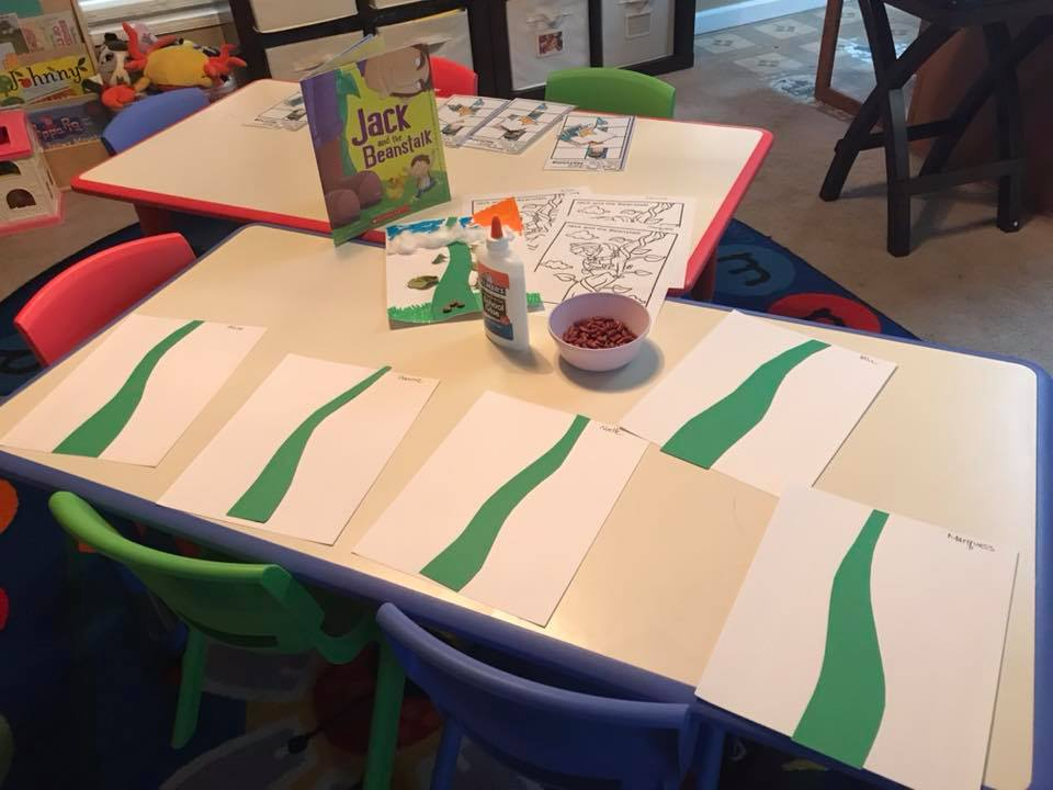 """""""Jack and the Beanstalk,"""" Crafts and Activities"""