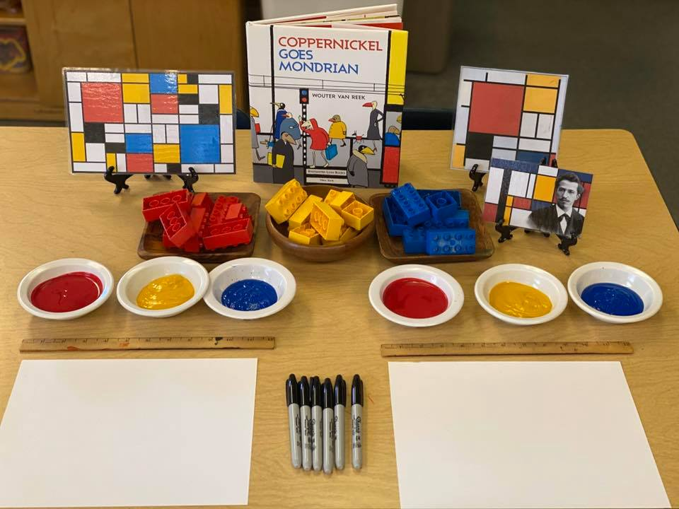 Mondrian-Inspired Art Activity