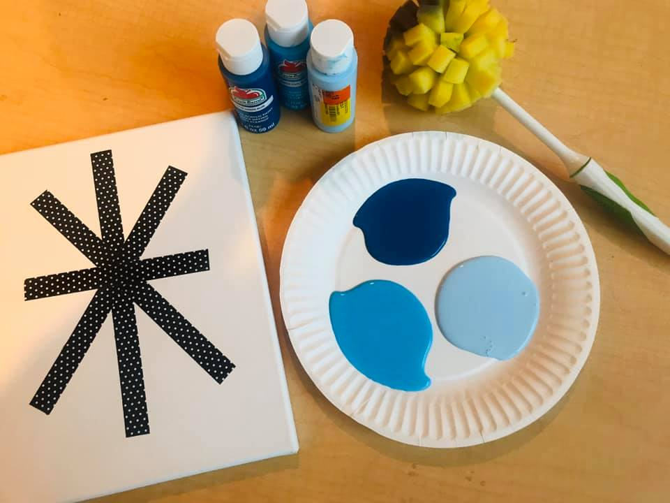 Winter Snowflake Art!