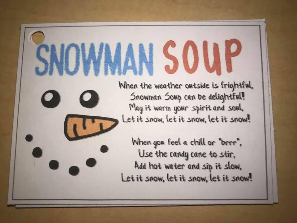 Making Snowman Soup