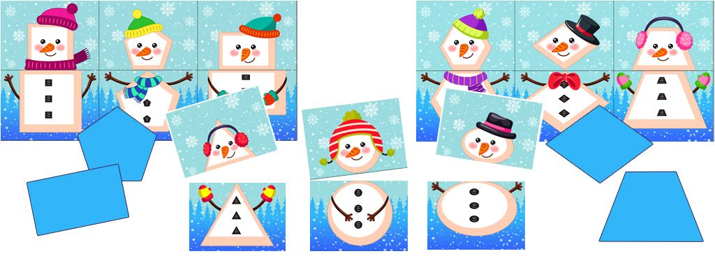 Snowman Shape Matching