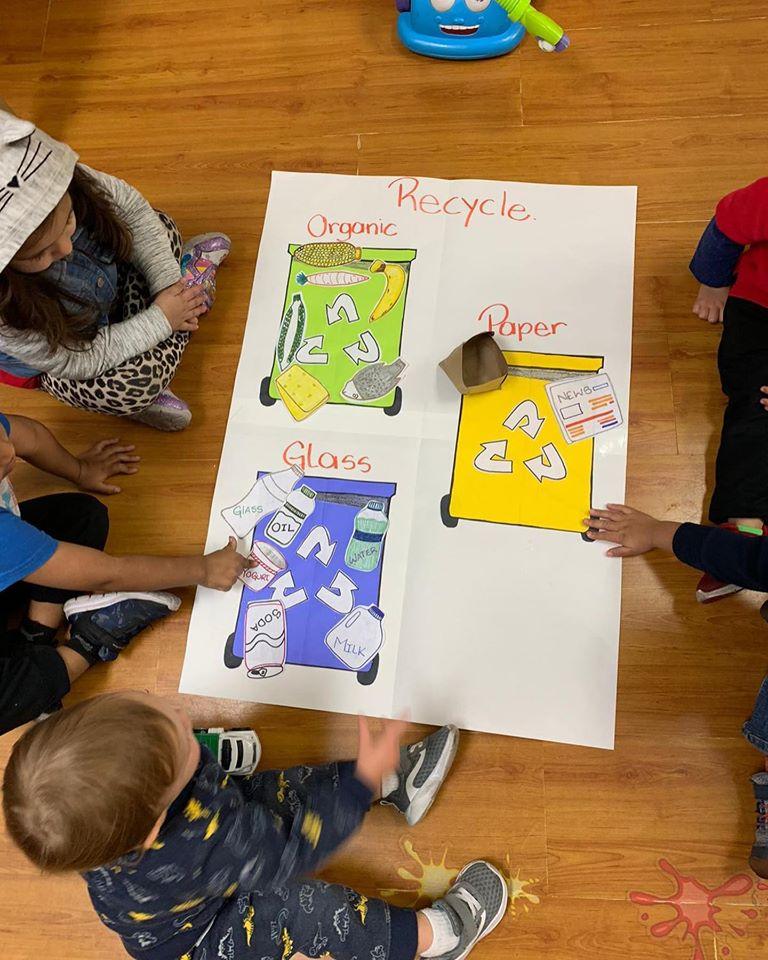 Recycling Activity for Preschoolers
