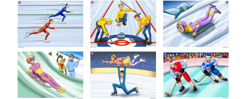 Winter Olympics Printable Pictures