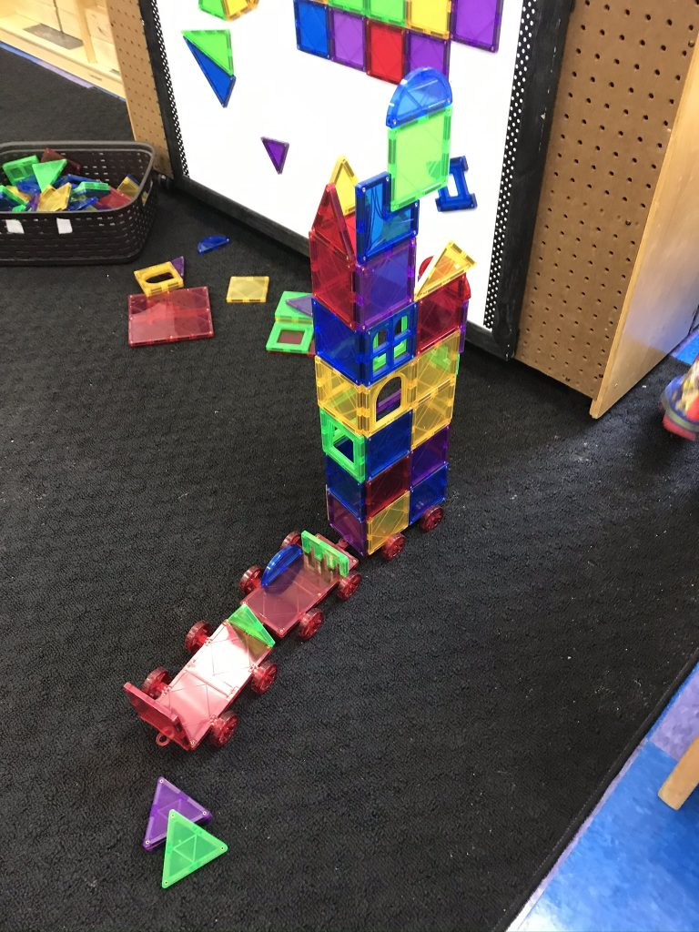 Creative Building, Stacking, and Sorting During Free Play with Mixed Objects for Preschoolers