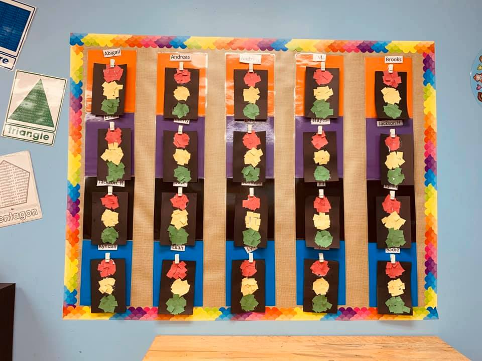 Black History Month-Themed Traffic Light Craft for Preschool Students