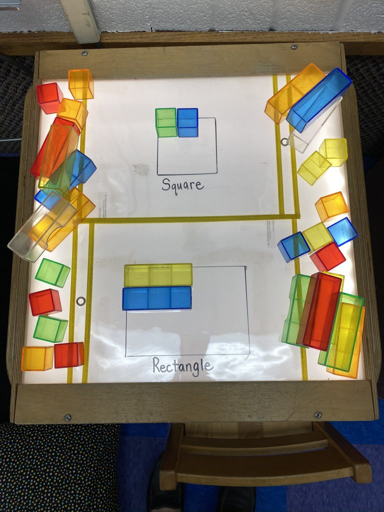 Square and Rectangle-themed Activities and Art Projects