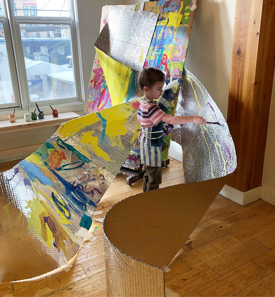Complex Painting Activity for Young Students