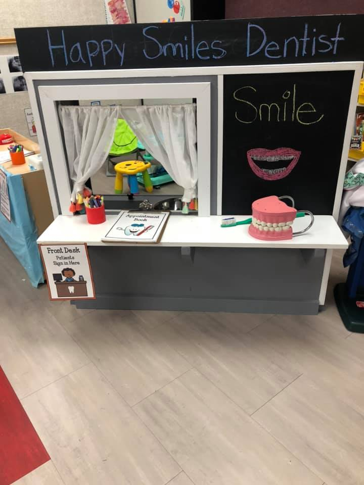 Dentist Office Dramatic Play Area For Preschoolers