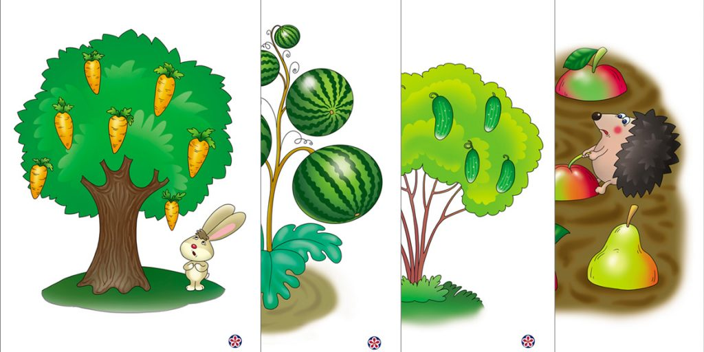 Printables About Where Fruits and Vegetables Grow for Young Students