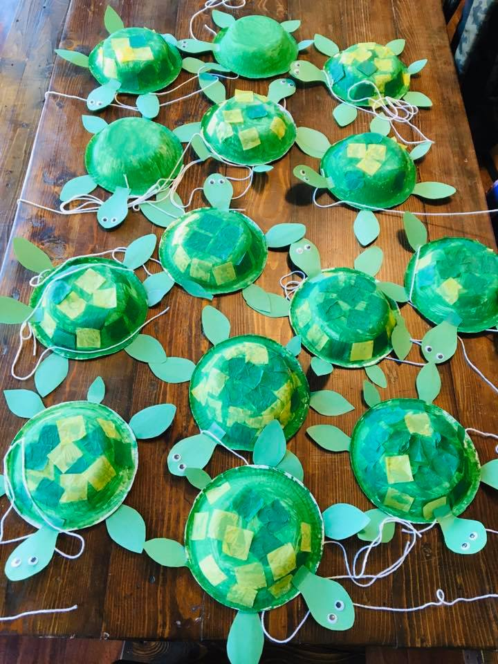 Pet Turtle Paper Craft for Preschoolers
