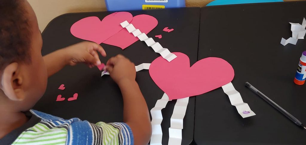 Valentine's Day Themed Crafts for Toddlers