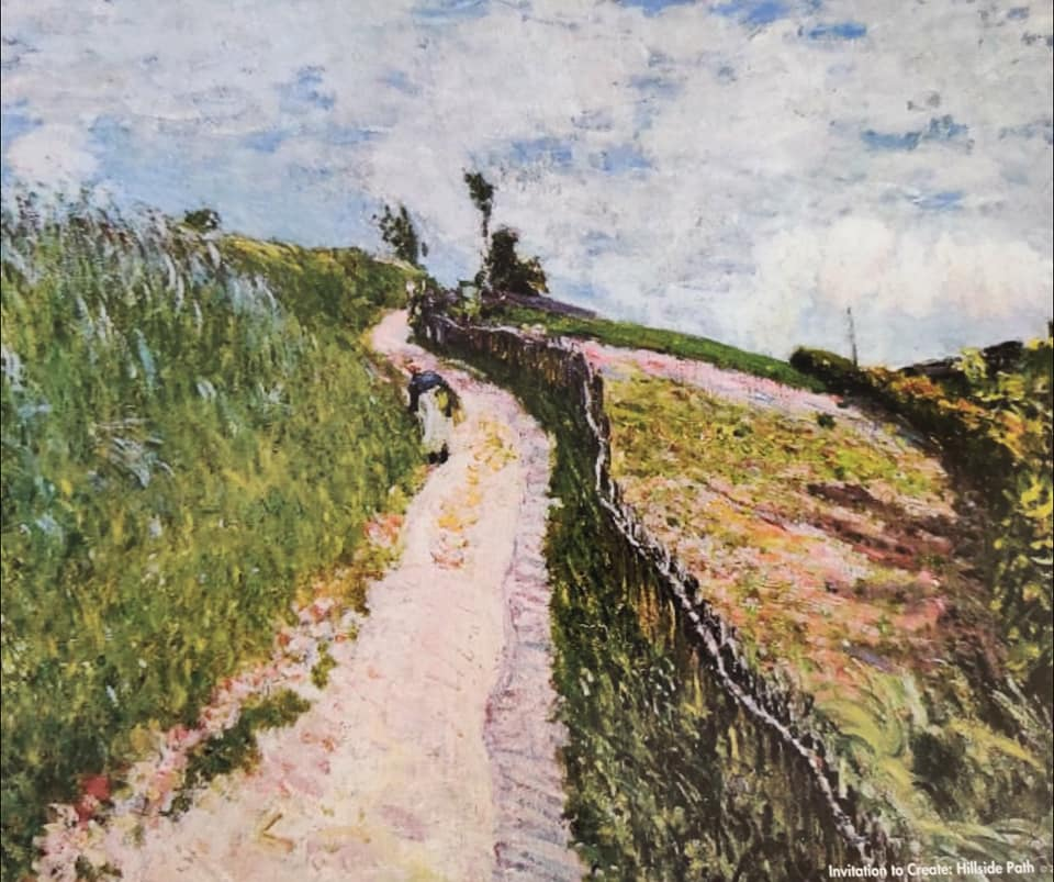 The Hill Path, Ville d Avray Alfred Sisley