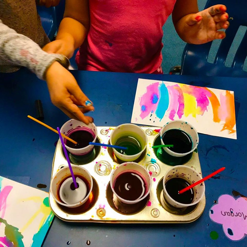 Making Watercolor Paintings From Dried-Out Markers Art Activity for Young Children