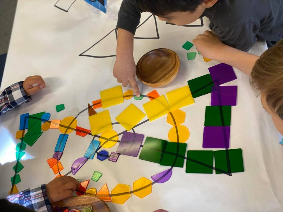 Wassily Kandinsky Art Recreation Activity for Young Children