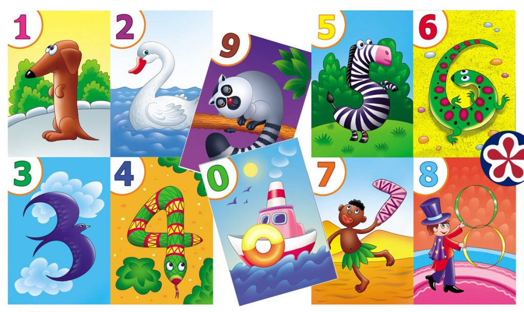 Printable Number Flash Cards for Students