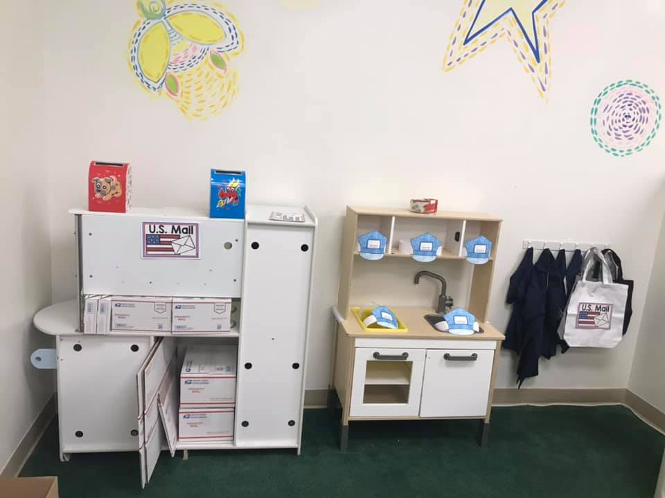 Post Office Dramatic Play Area For Students