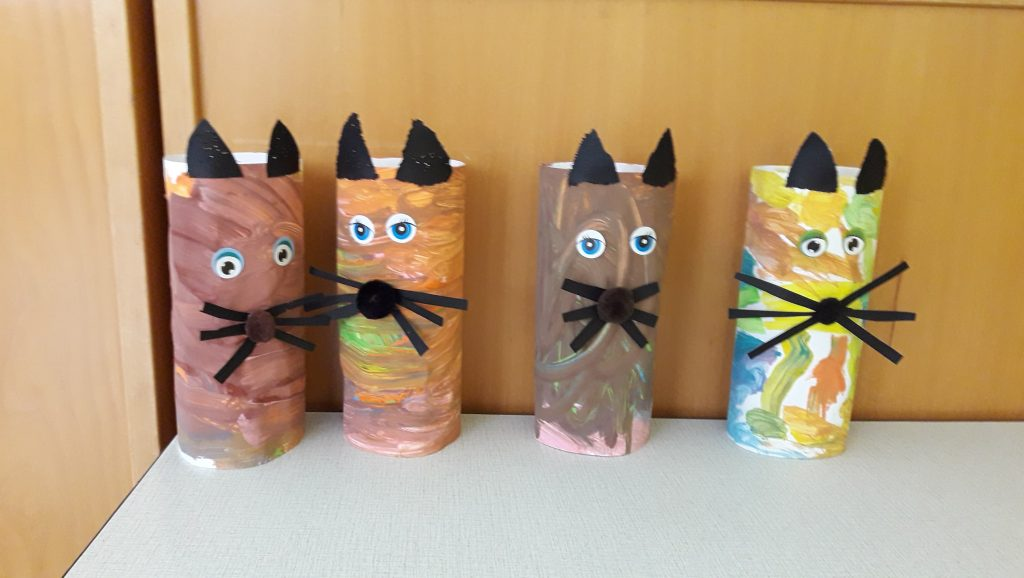 Paper Kittens Craft