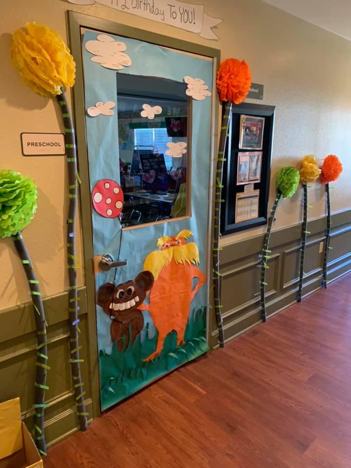 Dr. Seuss Themed Door Decorations