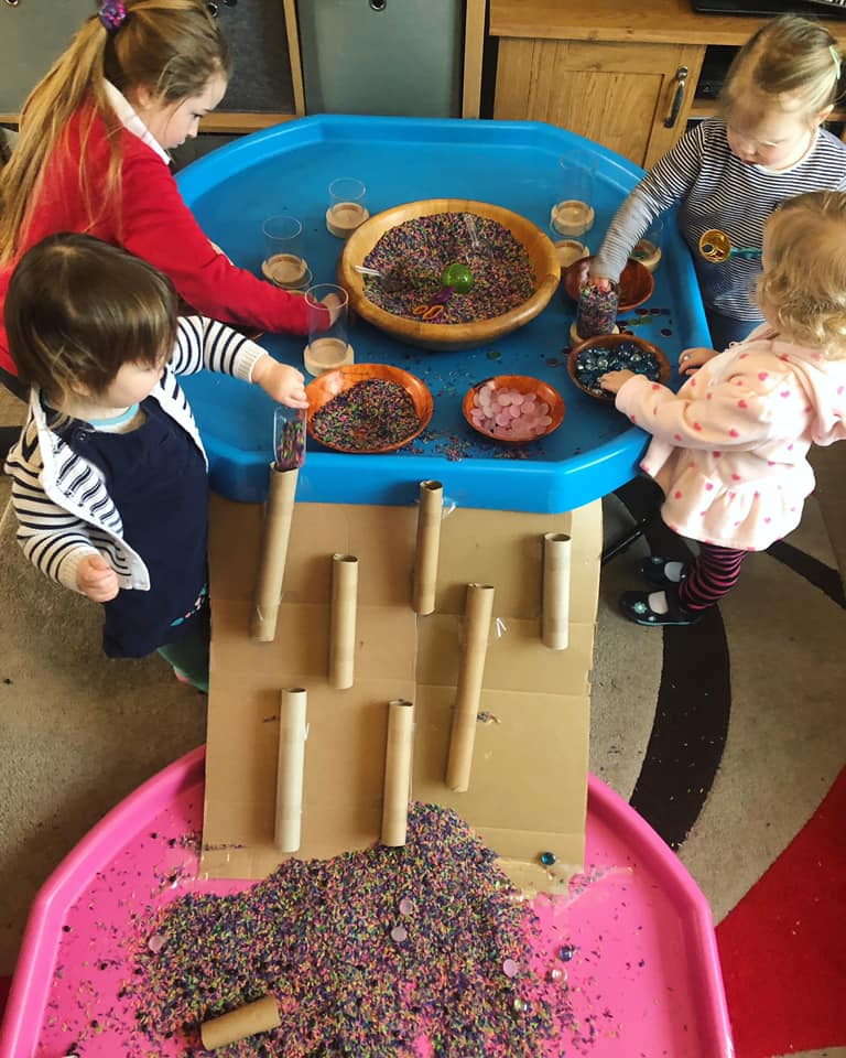 Assorted Resources Free-Play Activity for Toddlers