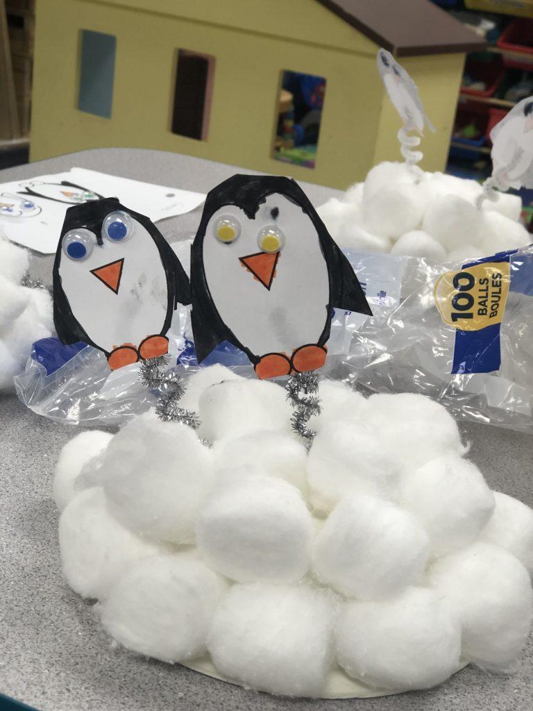 Winter Preschool Activity