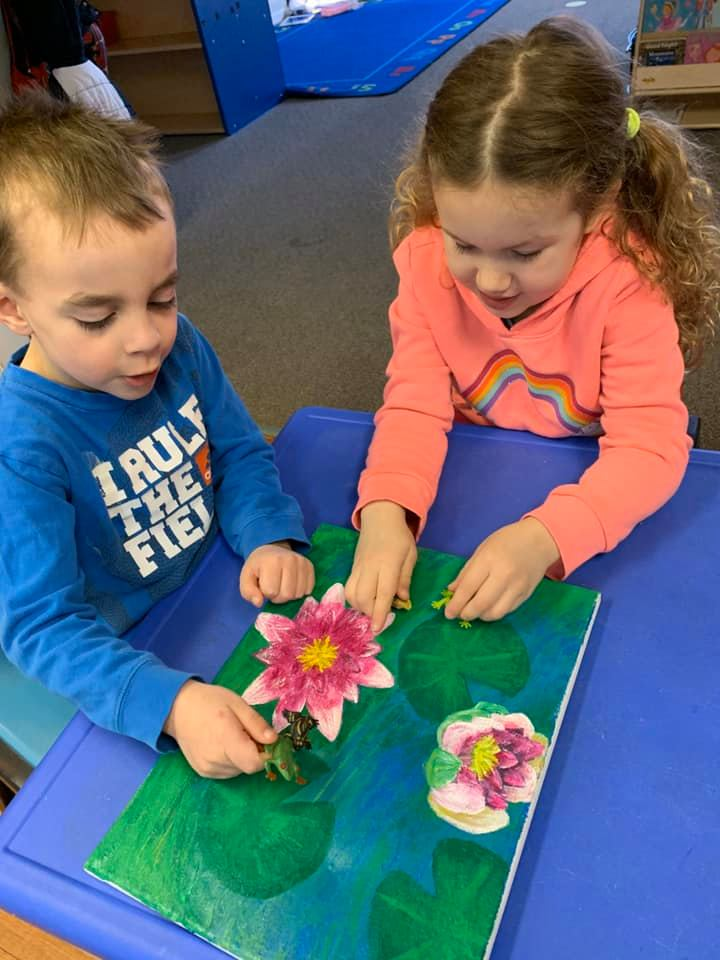 Learning About Pond Life Craft Activity for Preschoolers