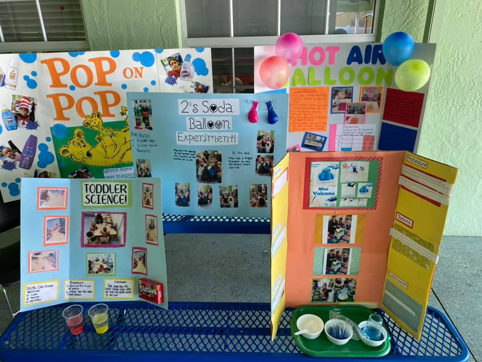 Science Fair Display Ideas For Preschoolers