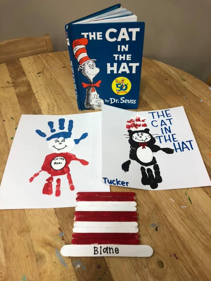 Craft Activities for Preschoolers Themed for Books by Dr. Seuss