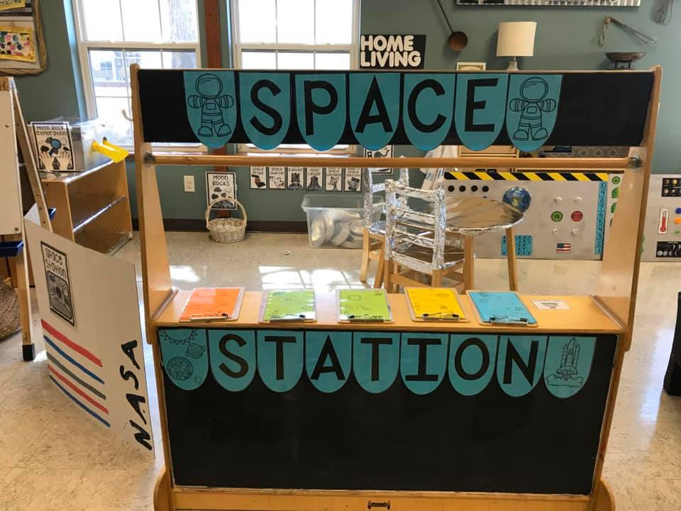 Space Station Dramatic Play Area