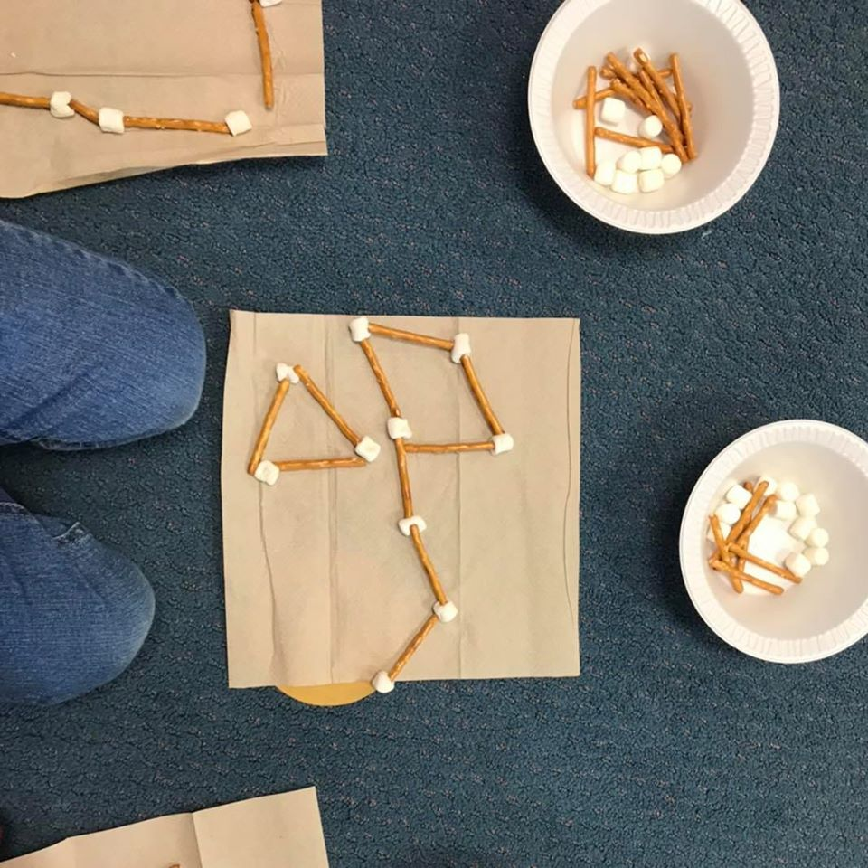 Marshmallow and Toothpick Constellation Activity