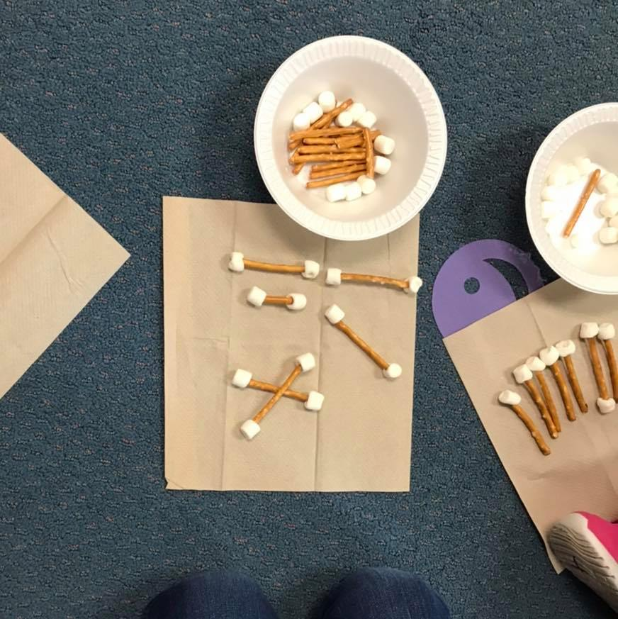 Space-Themed Marshmallow and Toothpick Constellation Activity