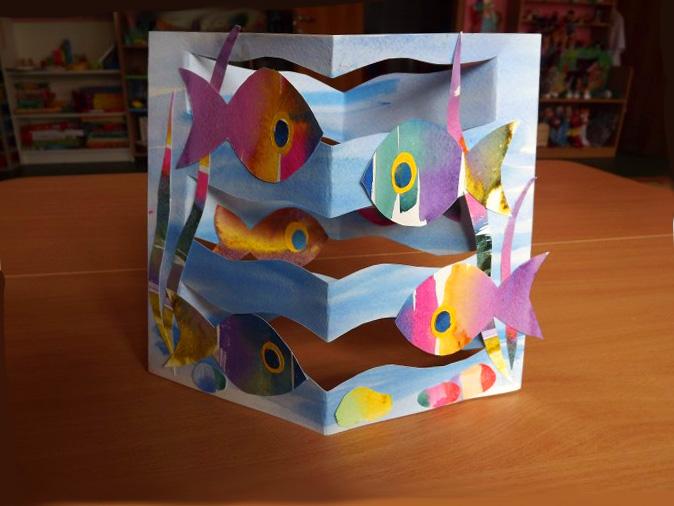 Aquarium Craft for Young Students