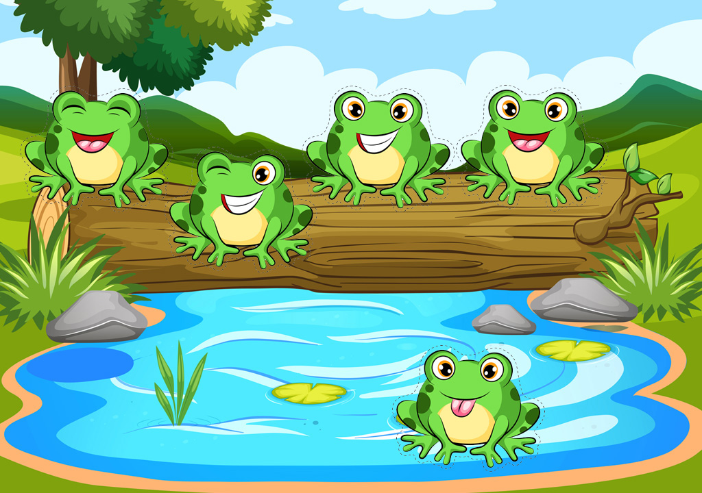 Free Five Little Speckled Frogs Printable