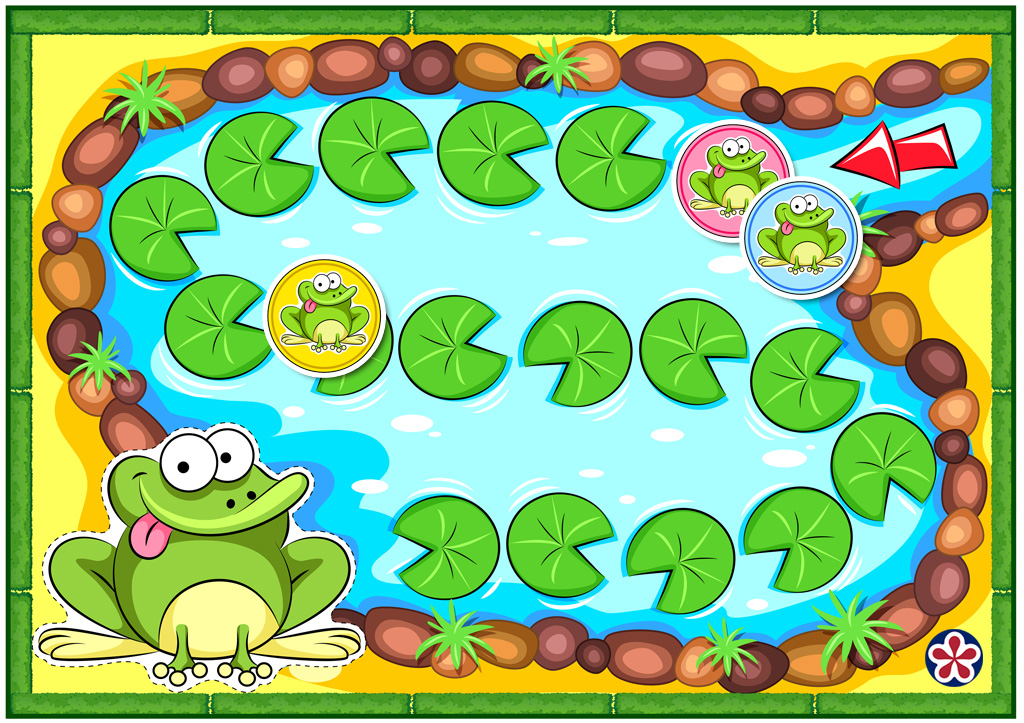 Printable Frog Board Game Template With Game Ideas