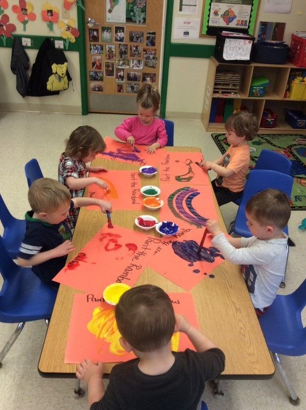 Exploring the Colors of the Rainbow Via Painting