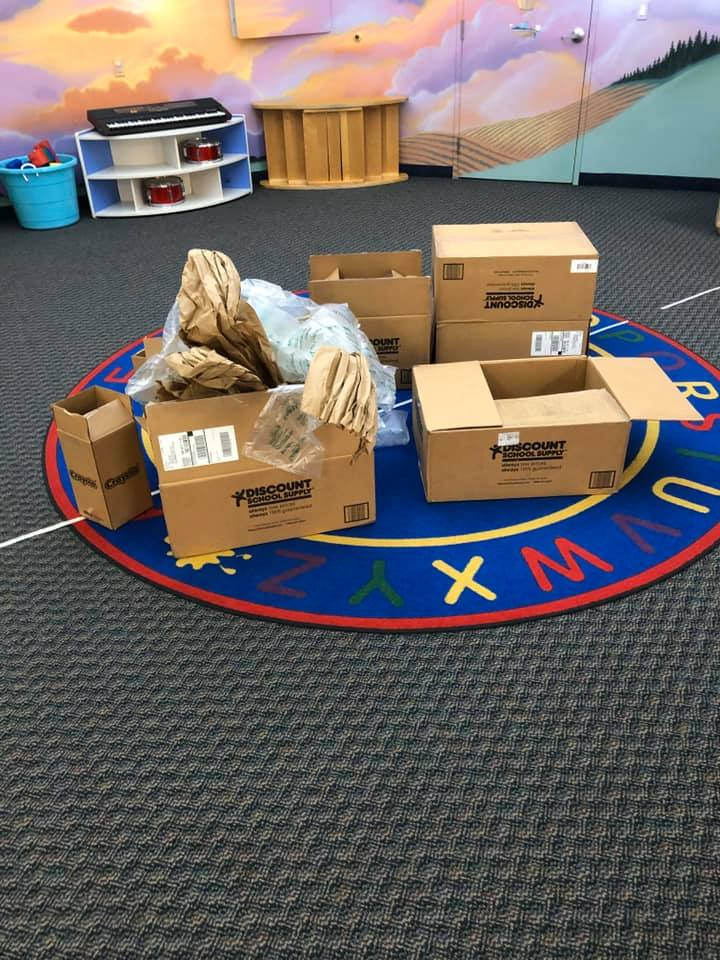 Rocket Ship Boxes Activity for Young Children