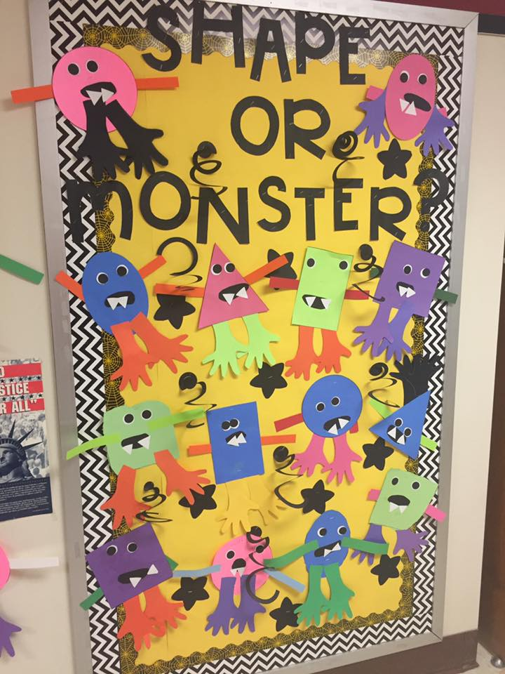 Lesson Plan: Shape Monsters Activity for at-Home Learning
