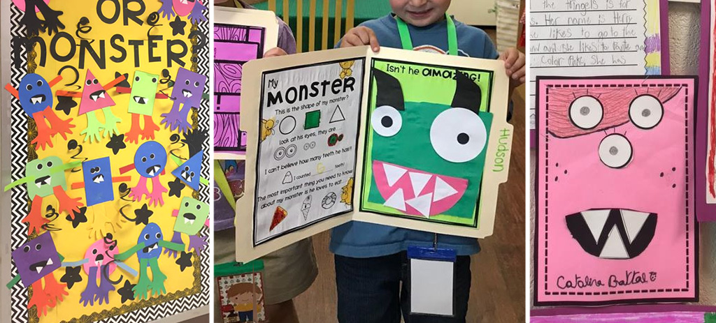 Lesson plan Shape Monsters