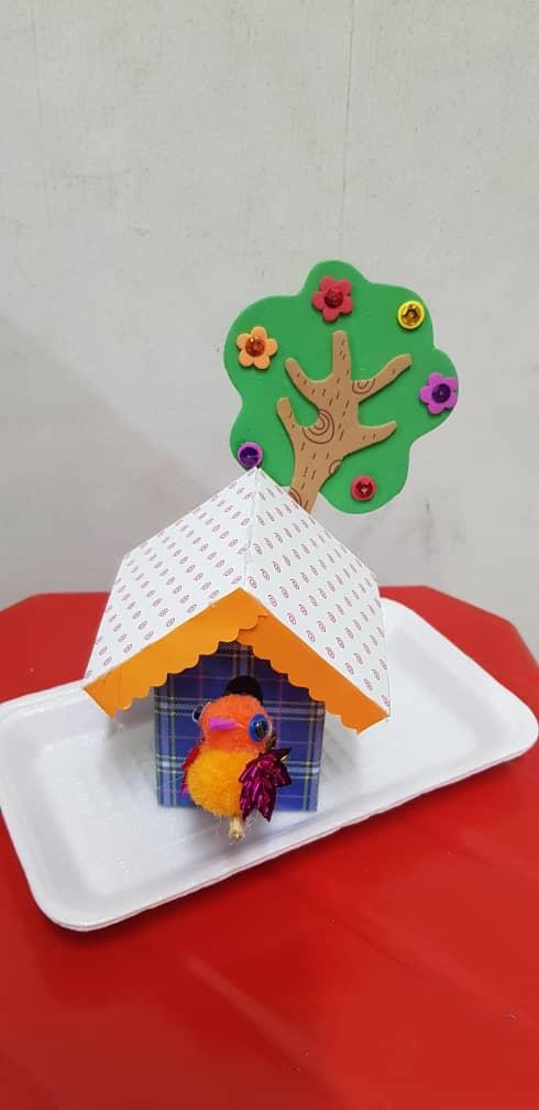 Pompom Craft - Bird