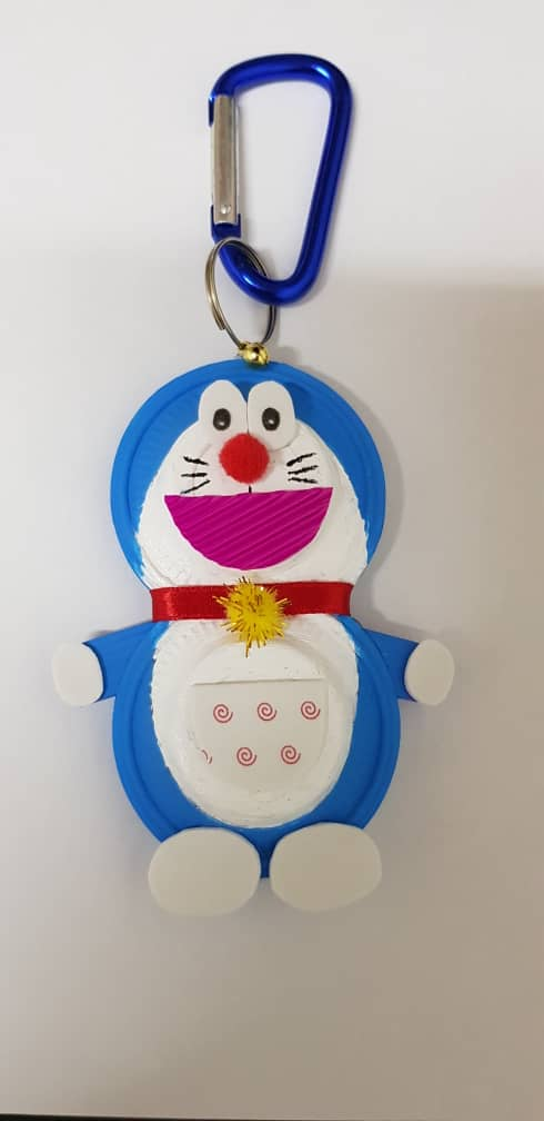 Doraemon Keychain Craft