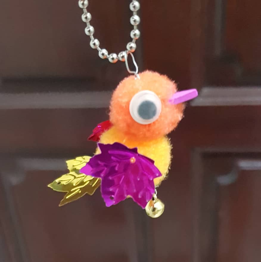 Pompom Craft - Bird