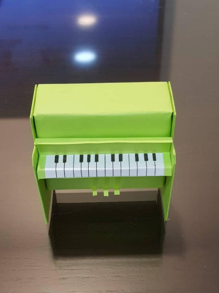 3d Origami Piano