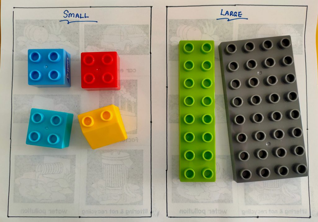 Size Sequence Activity For Preschooler