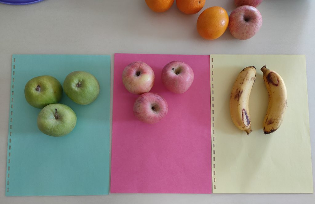 Color Sorting and Fruit Recognition
