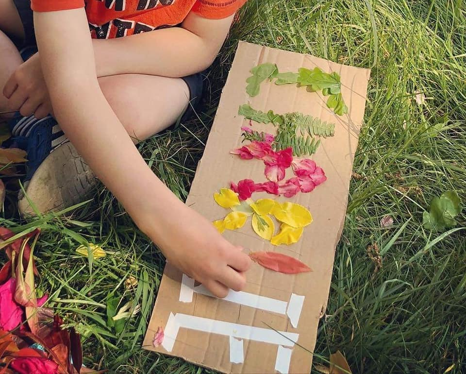 Spelling With Nature Craft Activity