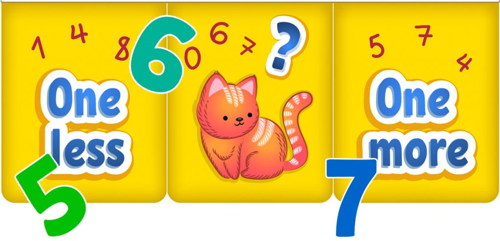 Number Neighbors Printable Counting Activity for Kids