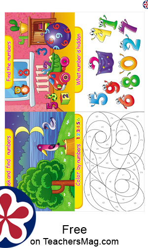 Fun Math-Themed Activity Cards for Kids