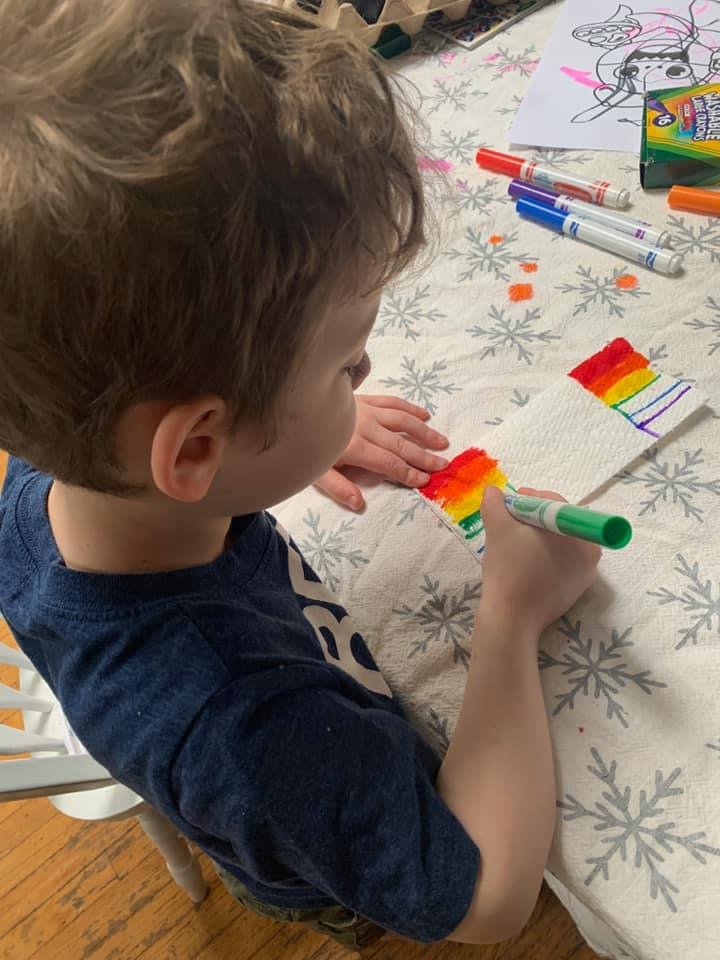 """""""Climbing Rainbow,"""" Science Experiment for Kids"""
